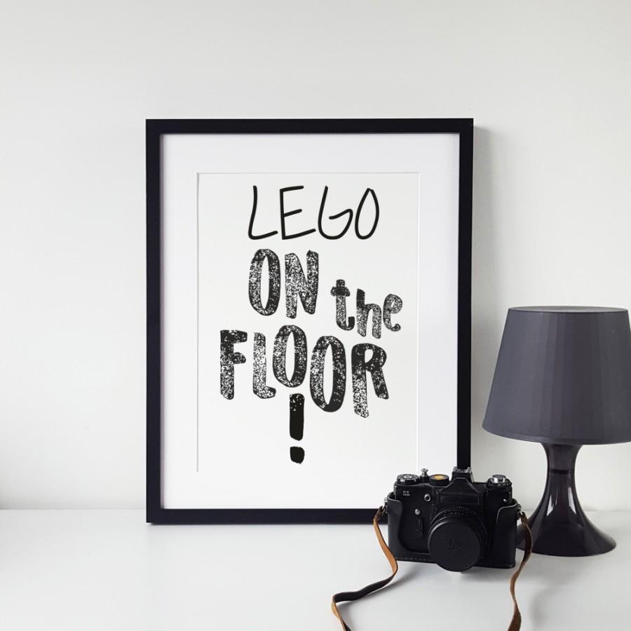 Lego on the floor!