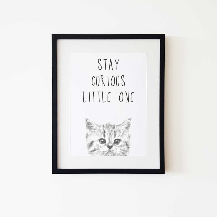 Stay curious litlle one