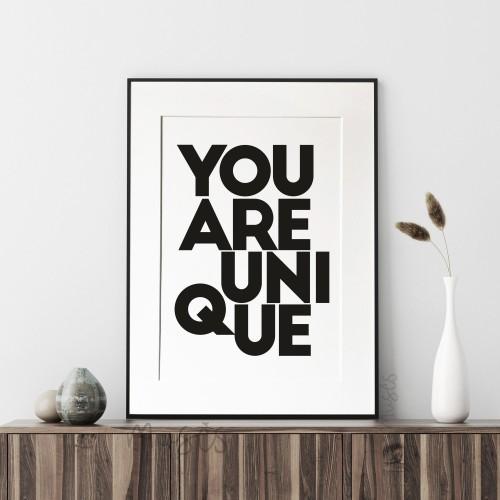 You are unique